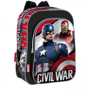 Backpack Captain America Civil War Justice 37cm
