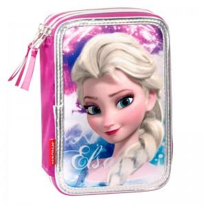 Frozen Disney Shining Triple pencil case