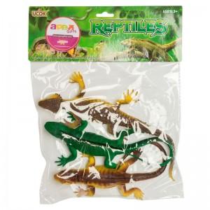 Lizard assorted 3 pcs set