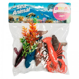 Marine Animals assorted 6pcs set