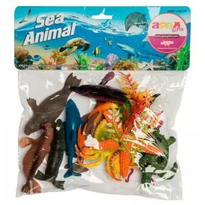 Marine Animals assorted 28pcs set