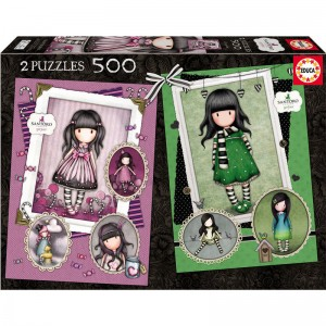Gorjuss Sugar and Spice + The Scarf puzzle 2x500pcs