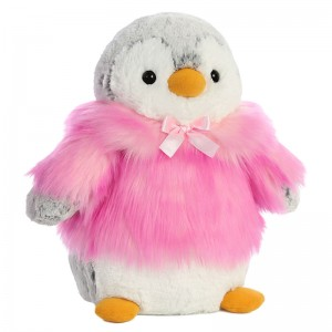Penguin pink solft plush toy 28cm
