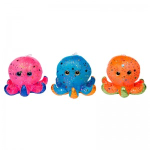 Octopus assorted plush toy 16cm