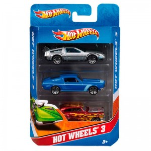 Hot Wheels assorted 3-car pack