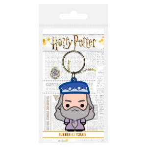 Harry Potter Dumbledore rubber keychain