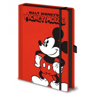 Disney Mickey A5 notebook