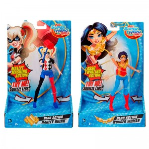 DC Comics Super Hero Girls assorted action figure