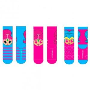 Shimmer and Shine assorted socks pack 3