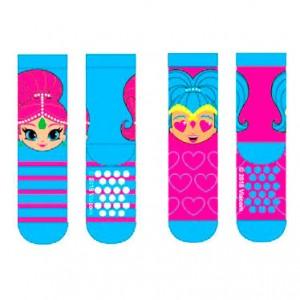 Shimmer and Shine assorted anti slip socks