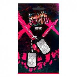 DC Comics Suicide Squad dog tags pendant