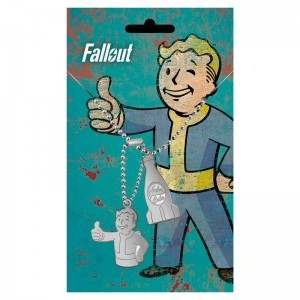 Fallout 4 Nuka Cola dog tags pendant