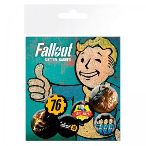 Fallout 76 badge pack