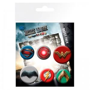 DC Comics Justice League badge pack