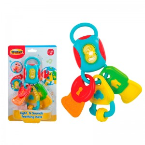 Lights and Sounds Teething Keys