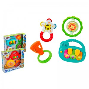 Rattle music assorted set