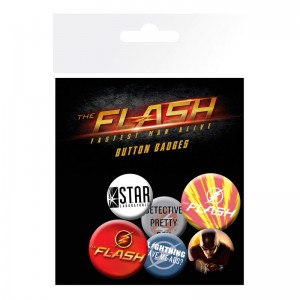 DC Comics The Flash badge pack