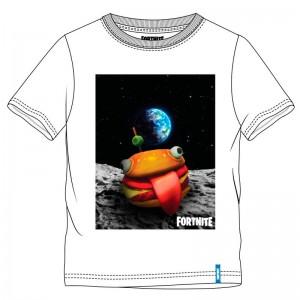Fortnite Hamburger White t-shirt