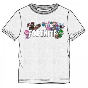 Fortnite Characters Grey t-shirt