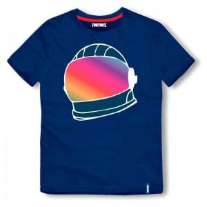 Fortnite Helmet Blue t-shirt