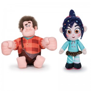 Wreck It Ralph Ralph & Vanellope assorted soft plus toy 30cm
