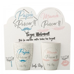 Mama Papa power pack 2 mugs