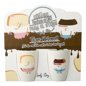 Chocottelo Tostada pack 2 mugs