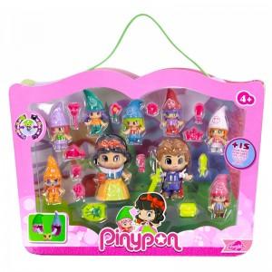 Pinypon Snow White and 7 Dwarf