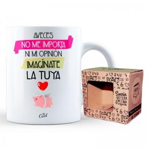 A Veces No Me Importa Ni Mi Opinion mug
