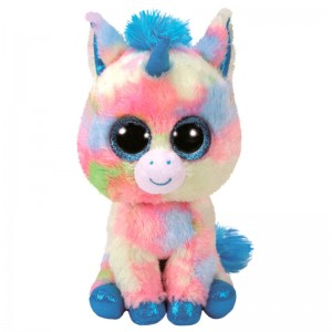 TY Beanie Boos Blue Unicorn plush toy 23cm