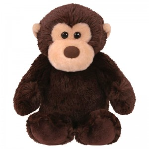 TY Beanie Boos Mookie Monkey plush toy 15cm