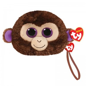 TY Beanie Boos Coconut Monkey plush purse 10cm
