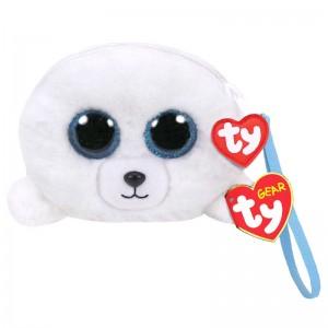 TY Beanie Boos Icy Seal plush purse 10cm