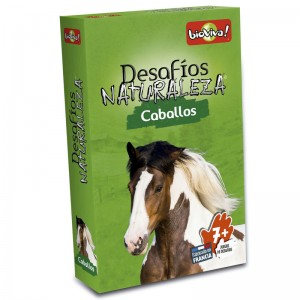 Challenges of Nature Horses cards game