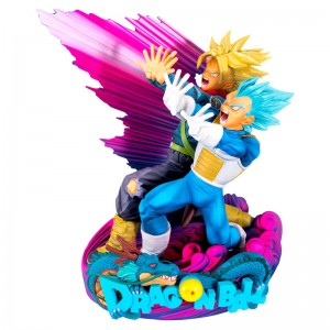Dragon Ball Super Super Master Stars Diorama II The Brush II Vegeta & Trunks figure 20cm