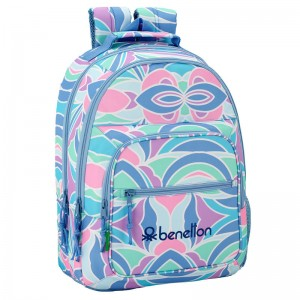 Benetton Arcobaleno adaptable backpack 42cm