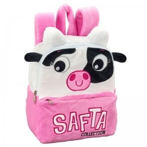 Cow plush backpack 22cm