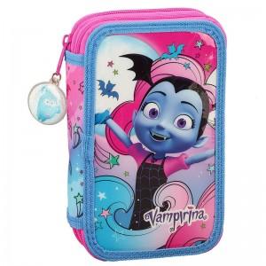 Disney Vampirina double pencil case 28pcs