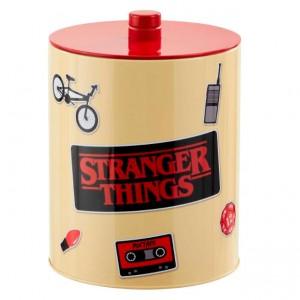 Stranger Things Retro Poster cookie jar