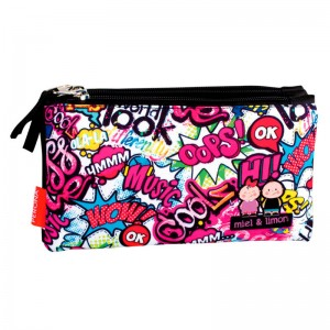 Perona Miel & Limon Kiss Me triple pencil case