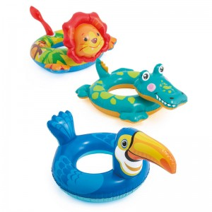 Assorted animal swim ring inflatable