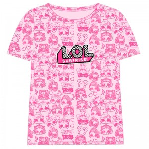 LOL Surprise Dolls pink t-shirt