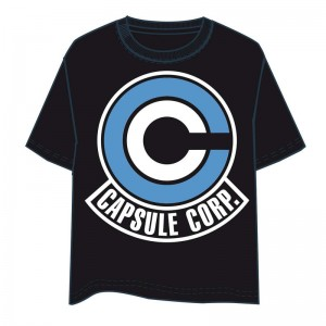 Dragon Ball Capsule Corp adult tshirt