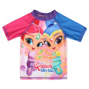 Shimmer and Shine swim t-shirt