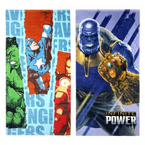 Marvel Avengers assorted cotton beach towel