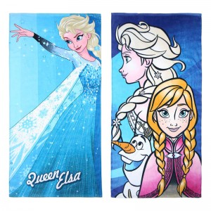 Disney Frozen assorted cotton beach towel