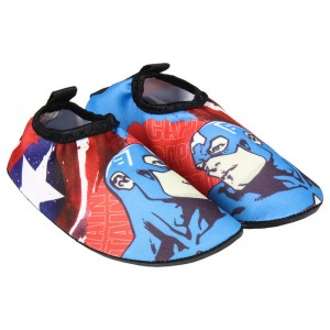 Marvel Avengers wet shoes
