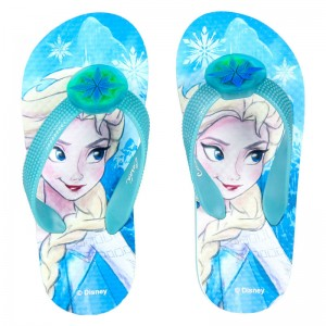 Disney Frozen flip flops with lights