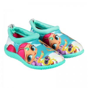 Shimmer and Shine wet shoes