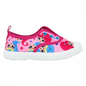 Shimmer and Shine shoe canvas